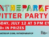 Join us for #InTheParkFCP twitter chat July 12 at 9PM et
