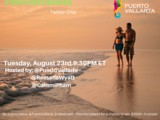 Let's chat romance in Puerto Vallarta! Join us Aug 23, 9:30 pm et #WeVisitVallarta #ad
