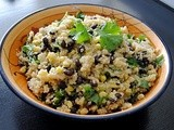 Black Bean and Sweet Corn Quinoa