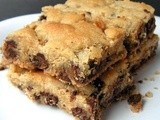 Fat Friday: Nanah's Chocolate Chip Cookie Bars