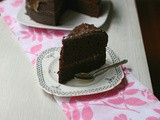 Baked sweet potato chocolate cake (gluten free)