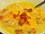 Friday's Leftovers: Corn and Chicken Chowder