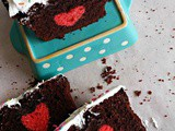 Hidden Heart Cake / Surprise Cake