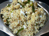 Gothumai Rawa Upma / Cracked Wheat Upma