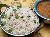 Jeera Rice and Methi Dal Fry