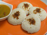Quick Poha and Oats Idli