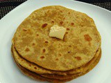Sweet Potato Parathas