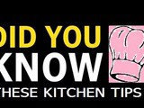 Tip #56: Did you know these Kitchen Tips