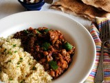 Cooking dried beans from scratch and Moroccan Lamb, Chickpea and Lentil Harira