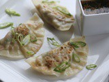 Vegetable Ginger Potstickers