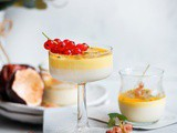 Coconut Passion Fruit Panna Cotta
