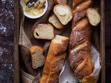 Crusty French Bread (French Baguettes)