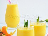 Pineapple Mango Orange Smoothie