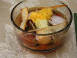 Leftover Turkey Soup with Mexican Flavors