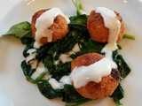 New YouTube Video!! Salmon Balls with Mock Hollandaise Sauce