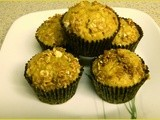 Apple, Date and Cinnamon Muffins with Maple Oats - Gluten Free - wwdh