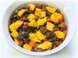 Black Beans and Rice with Mango
