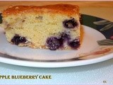 Blueberry Apple Cake