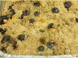 Blueberry Buckle Coffee Cake