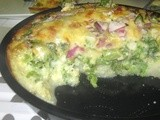 Broccoli Quiche with Potato Crust