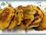 Cheddar Broccoli Corn Fritters
