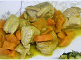 Chicken Poached in Coconut Curry - Donna Hay