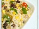 Confetti Rice, Corn & Bean Salad