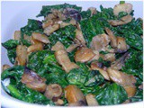 Creamy Spinach and Mushrooms