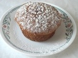 Giant Nutty Pear Muffins - Muffin Mondays