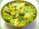 Mixed Greens and Apple Cider Vinaigrette