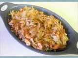 Nutty Cabbage & Shallot Stir Fry