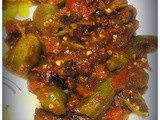 Okra with Tomatoes in a Fragrant Sauce - An Edible Mosaic