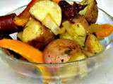 Pan Roasted Sausage and Vegetables