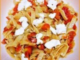 Pasta with Tomato, Basil, and Olives - Donna Hay