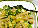 Penne with Broccoli and Apples