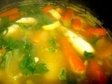 Shortcut Lemon Chicken Soup