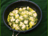 Spinach, Herb, and Goat Cheese Frittata - Ellie