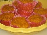 Sweet Potato Kugelettes - Muffin Style