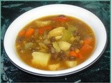 Wholesome Chunky Vegetable Soup - Cooking Inspired