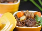 Bouef(Beef) Bourguignon- Daring Cooks Challenge- May 2012