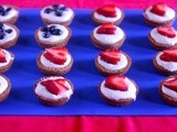 Fourth of July Fruit Tarts
