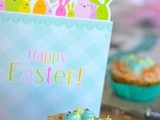 Nesting bird cupcakes, Technicolor chicks and a Happy Easter