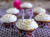Orange Cupcakes with Orange Cream Cheese Frosting