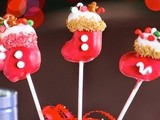 Stocking(cake) pops