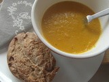 Carrot, Quinoa and Lentil Soup