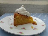 Orange and Almond Cake with Cinnamon Cream