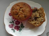 Parsnip, Pecan and Ginger Muffins