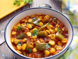 Corn Capsicum Curry Recipe | Sweet Corn Capsicum Gravy