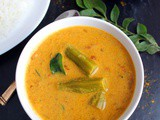 Drumstick Curry Recipe ( Drumstick Curry with Coconut Milk )