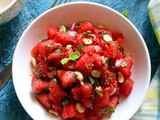 Indian Watermelon Salad | Watermelon Mint Salad